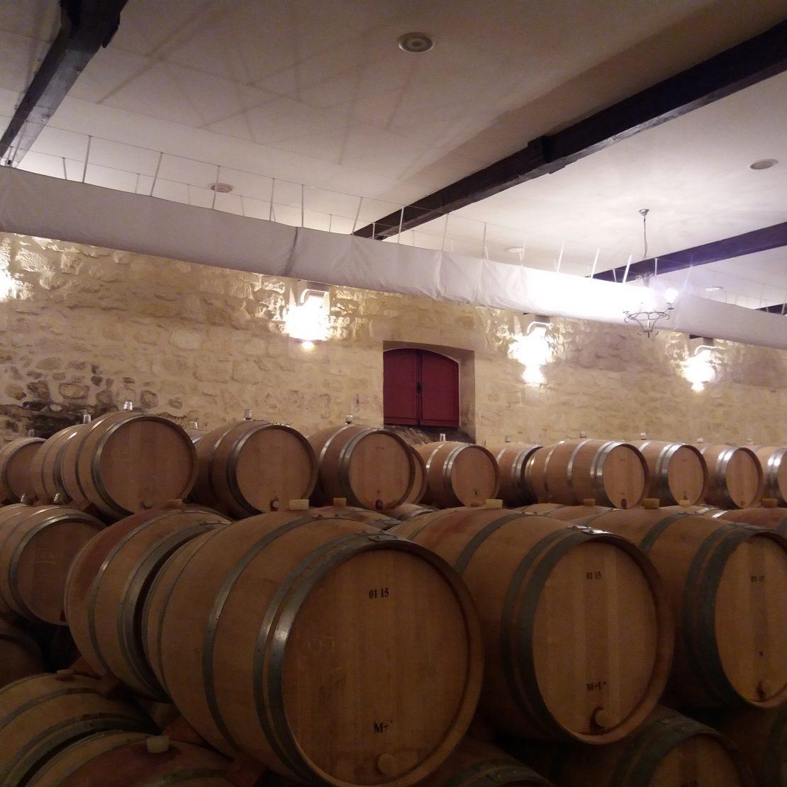 cuvier et chai Bordeaux