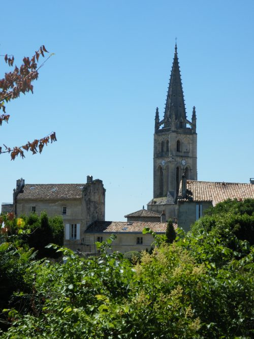 village de saint-emilion wine tour à Saint-Emilion  la route du vin Bordeaux